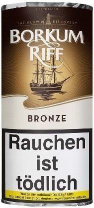 Borkum Riff Bronze (Bourbon Whiskey) Tabak 50g Pouch (Pfeifentabak)