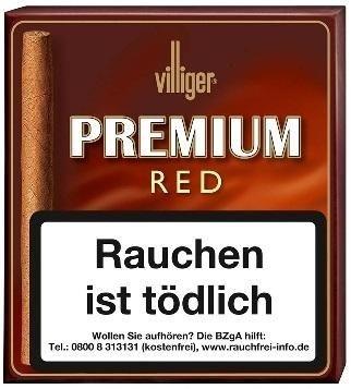 Villiger Premium Red ohne Filter (Vanilla) (5 x 20 Zigarillos)
