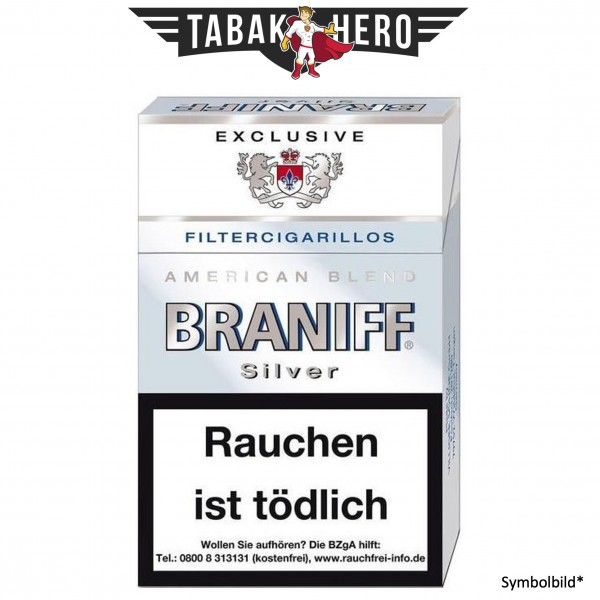 Braniff Silver ND (17 Zigarillos)