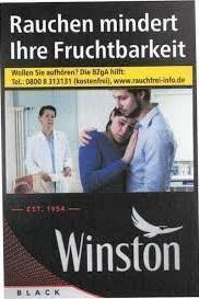 Winston Black Zigaretten (25 Stück)