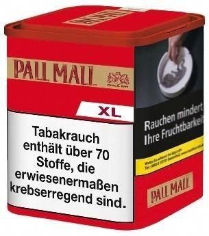 Pall Mall Authentic Red XL Tabak 60g Dose (Drehtabak / Feinschnitt)