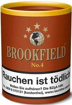 Brookfield No.4 (Black Bourbon) Tabak 200g Dose (Pfeifentabak)