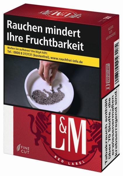 L&M Red (Stange / 8x22 Zigaretten)