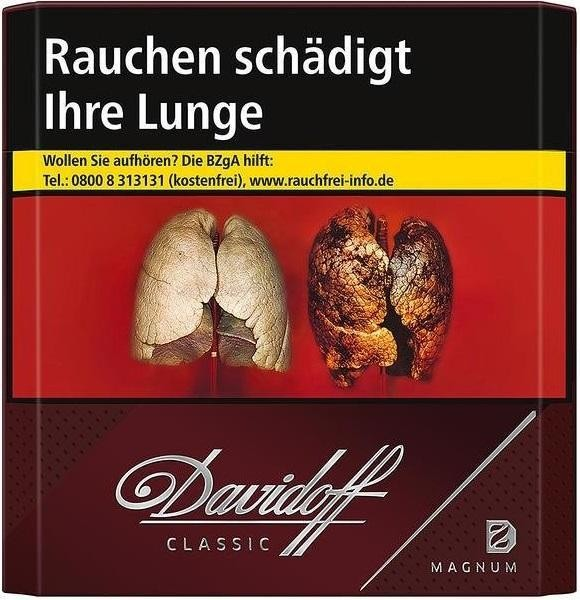 Davidoff Magnum Zigaretten (20 Stück)