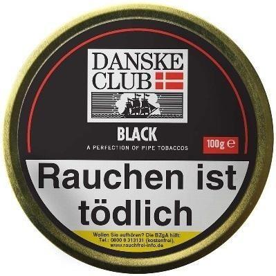 Danske Club Black (Luxury) Tabak 100g Dose (Pfeifentabak)