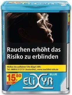 Elixyr Blue Tabak 115g Dose (Stopftabak / Volumentabak)