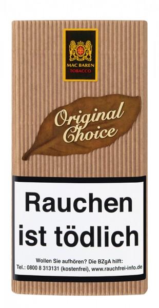 Mac Baren Choice Original No.1 Tabak 40g Pouch (Drehtabak / Feinschnitt)