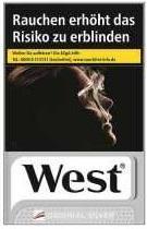 West Silver Zigaretten (20 Stück)
