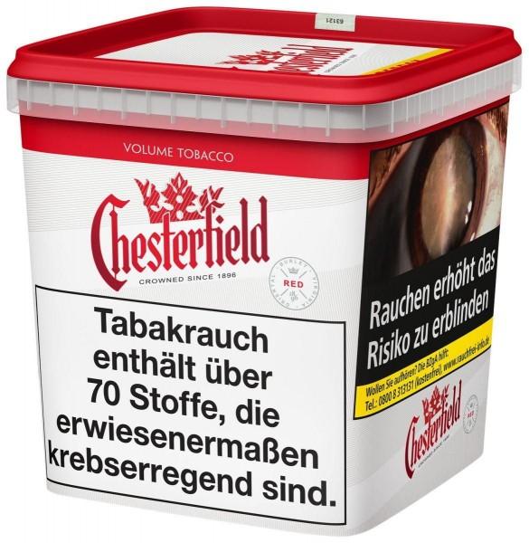 Chesterfield Red SUPER Tabak 280g Eimer (Stopftabak / Volumentabak)