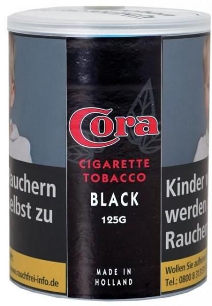 5x Cora Black (Zware) Tabak 120g Dose (Stopftabak / Volumentabak)