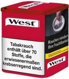 West Red Tabak 65g Dose (Stopftabak / Volumentabak)