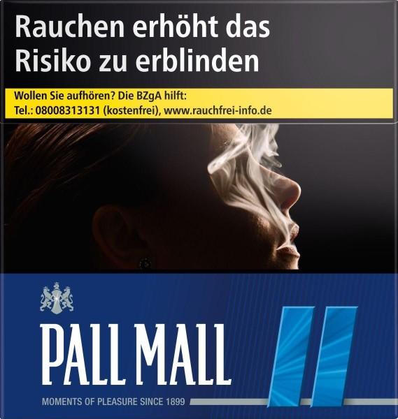 Pall Mall Blue (Stange / 8x30 Zigaretten)