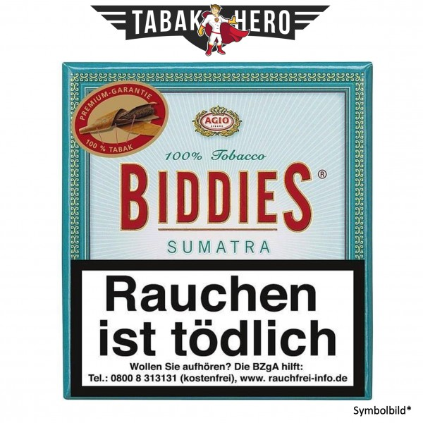 Biddies Sumatra (10x20 Zigarillos)