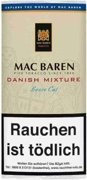 Mac Baren Danish Mixture Tabak 50g Pouch (Pfeifentabak)