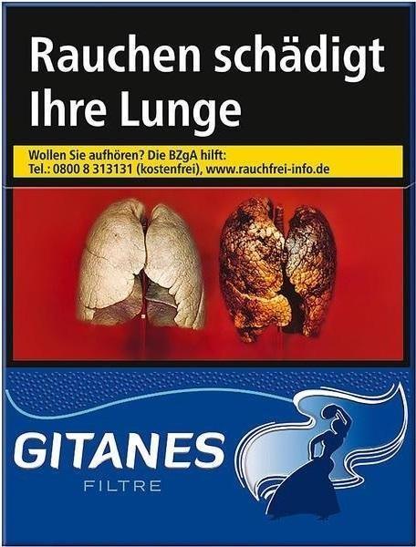 Gitanes Filter Zigaretten (20 Stück)