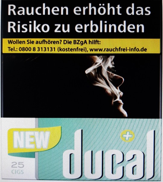 Ducal Plus Zigaretten (Stange / 8x25 Zigaretten)