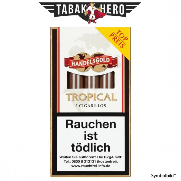 Handelsgold Tropical 190 (10x5 Zigarillos)