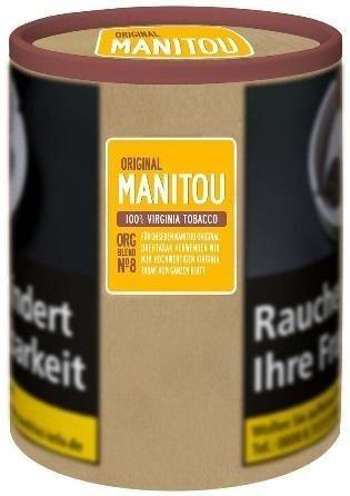 Manitou Organic Blend No8 Tabak 80g Dose (Drehtabak / Feinschnitt)