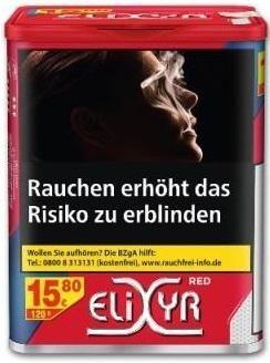 Elixyr Red Tabak 115g Dose (Stopftabak / Volumentabak)