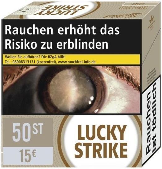 Lucky Strike Amber Zigaretten (49 Stück)
