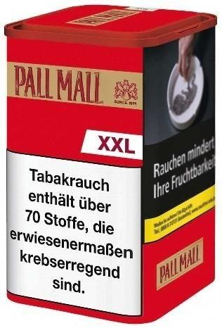 Pall Mall Authentic Red XXL Tabak 95g Dose (Drehtabak / Feinschnitt)