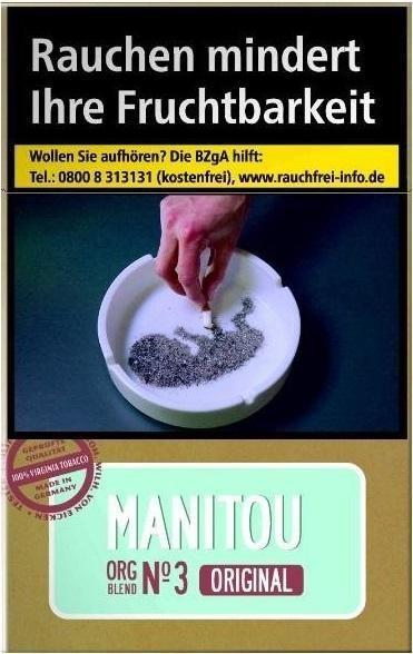 Manitou Org. No3 Sky (Stange / 10x20 Zigaretten)