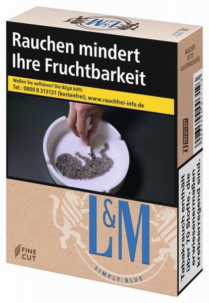 L&M Simply Blue Zigaretten (22 Stück)