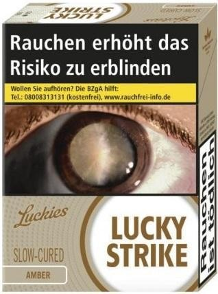 Lucky Strike Amber Zigaretten (23 Stück)