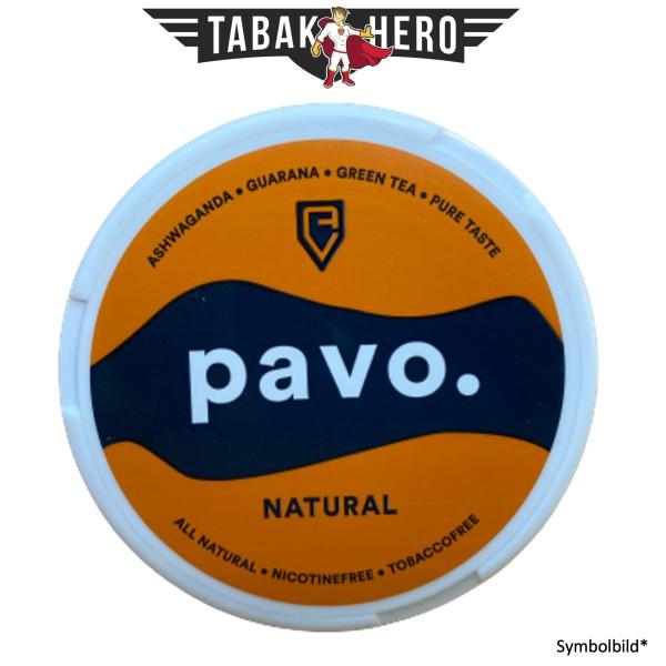 Pavo. Natural Kautabak herbal pouches Nikotinfrei 12g