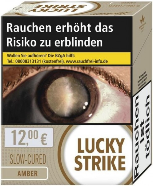 Lucky Strike Amber Zigaretten (38 Stück)