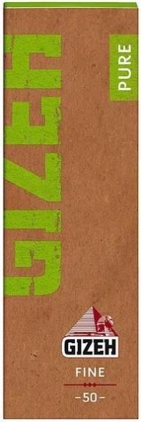 Gizeh Pure Fine Papers Drehpapier/ Blättchen/ Zigarettenpapier 50 Blatt