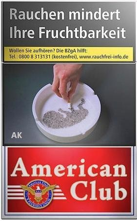 American Club (Stange / 10x20 Zigaretten)