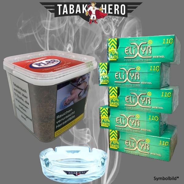 400g PL 88 Tabak, ELIXYR Mentholfilterhülsen, Zubehör, Stopftabak Volumentabak