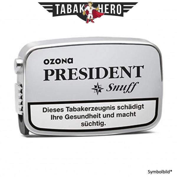 10x Ozona President Snuff Schnupftabak 7g
