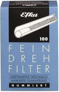 500 Stück Efka Feindrehfilter, Filter, Drehfilter blau