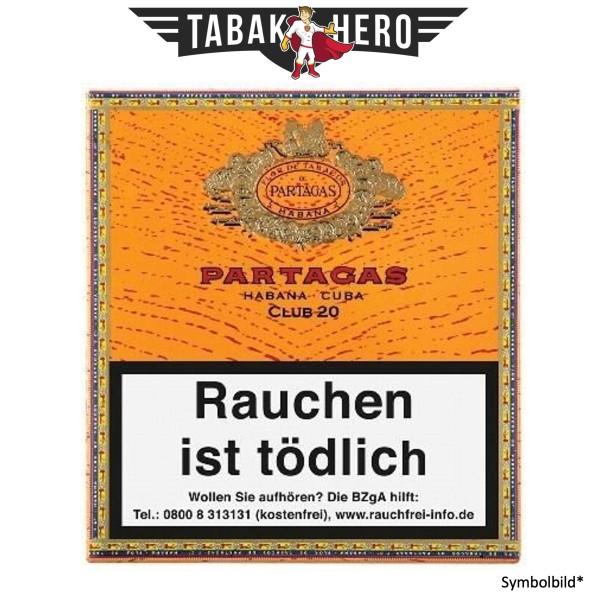Partagas Club Cigarillos (20 Zigarillos)