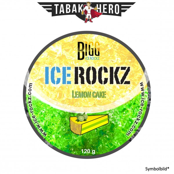 BIGG Ice Rockz Lemon Cake 120g Shisha Dampfsteine, Nikotinfrei