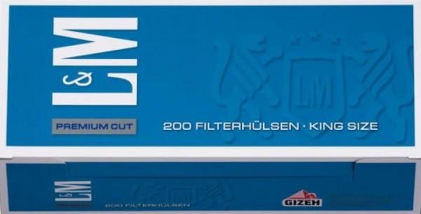 L&M Blue Hülsen Filterhülsen Zigarettenhülsen Stopfhülsen 200 Stück