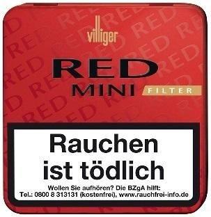 Villiger Red Mini Filter (20 Zigarillos)
