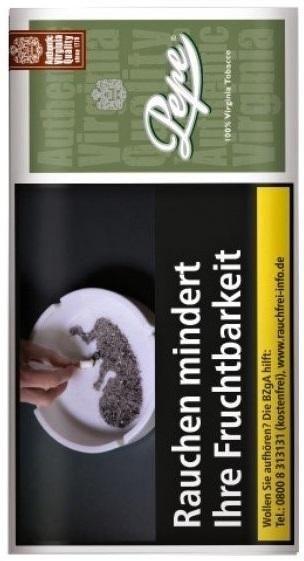 5x Pepe Rich Green Tabak 30g Pouch (Drehtabak / Feinschnitt)