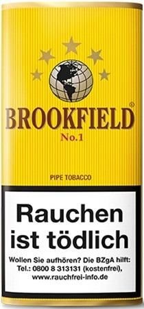 Brookfield No.1 (Aromatic Blend) Tabak 50g Pouch (Pfeifentabak)