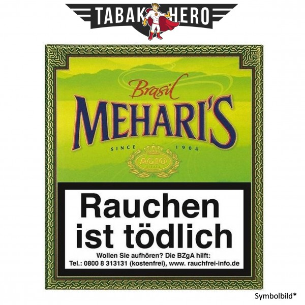 Meharis Brasil (10x20 Zigarillos)