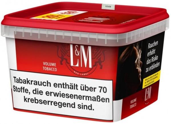 L&M Red Mega Box Tabak 155g Eimer (Stopftabak / Volumentabak)