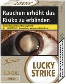 Lucky Strike Amber (Stange / 8x32 Zigaretten)