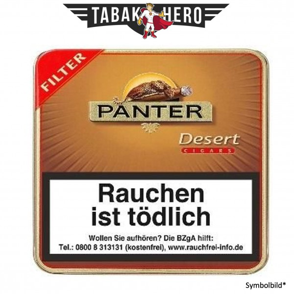 Panter Desert Filter (10x20 Zigarillos)