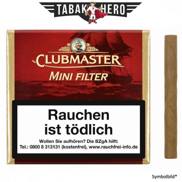 Clubmaster 222 Mini Filter Red Vanilla (20 Zigarillos)