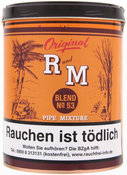 R and M Blend No53 (Rum&Maple) Tabak 250g Dose (Pfeifentabak)