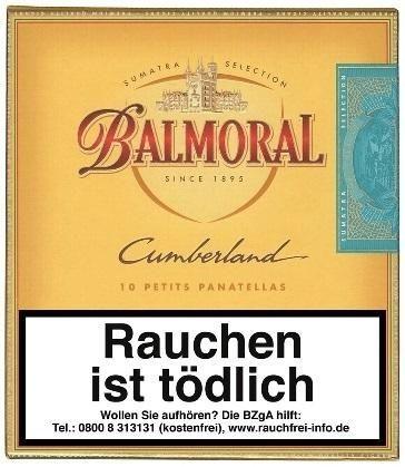 Balmoral Dominican Selection Cumberland Petit Panatela (10 Zigarren)