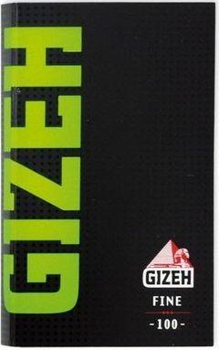 20 x 100 Blatt Gizeh Fine Magnet (grün) Drehpapier/ Blättchen/ Zigarettenpapier