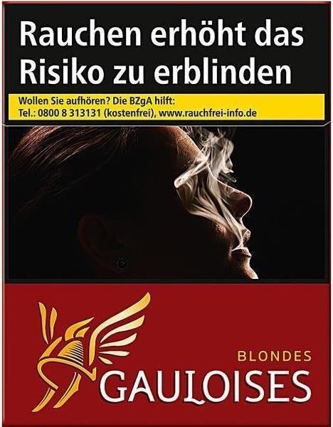 Gauloises Blondes Rot Zigaretten (28 Stück)